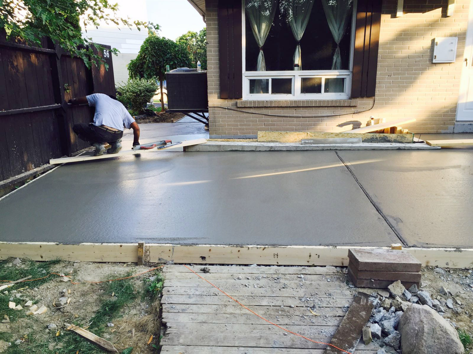 Concrete Sealing · Concrete
