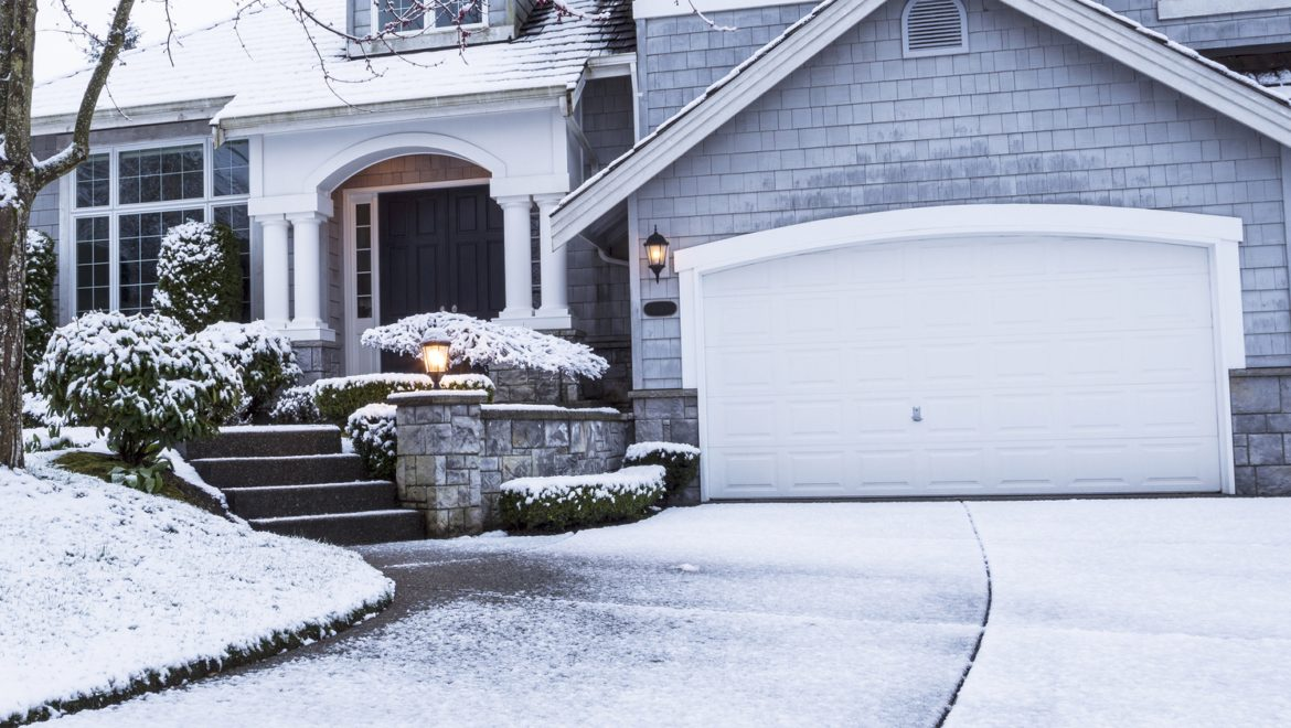 protect your asphalt concrete driveway in the winter