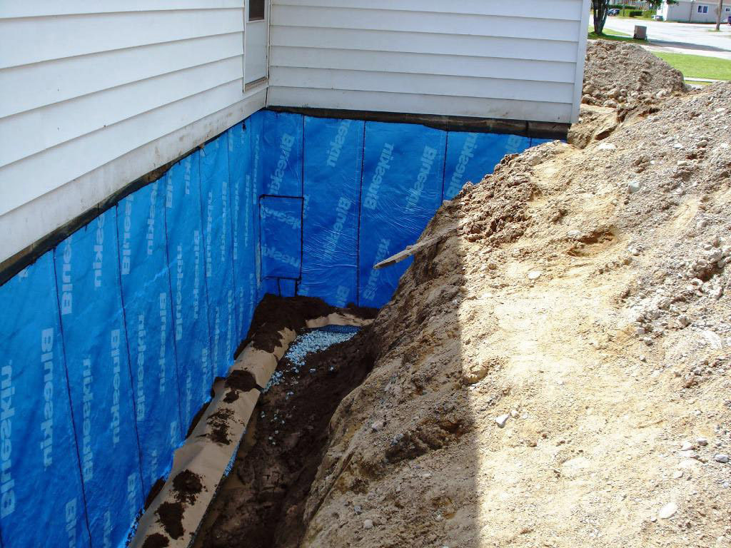 Basement waterproofing toronto gta wet basement problems Exterior basement waterproofing