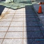 concrete sidewalk construction